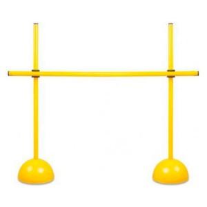 Obstáculo PVC Treinamento Atletismo - 2 Bases e 3 Barras - Azul Esportes