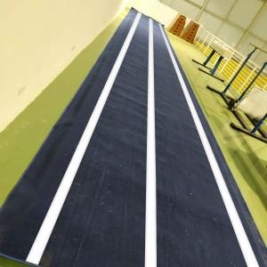 Pista de Tumbling Ginástica Artística - 18 m  - Azul Esportes