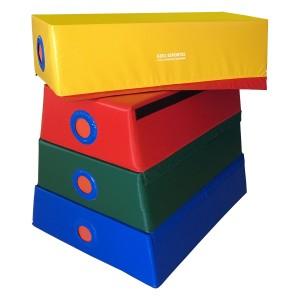 Plinto Espuma Piramidal - Infantil - Azul Esportes