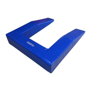 Colchão de Proteção para Trampolim Ginástica Artística - Modelo U - Azul Esportes
