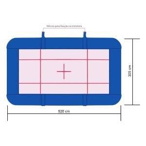 Proteção Trampolim Acrobático Ginástica Artística - Azul Esportes