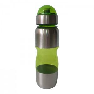 Squeeze Acrílico com Inox - 600 ml - Verde