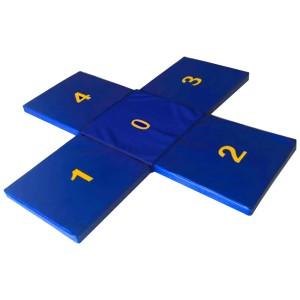 Tapete Numerado - Azul Esportes