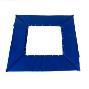 Proteção Mini Trampolim Ginástica Artística - Oficial - Azul Esportes