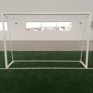 Trave Futebol de 7 Oficial - Aço - Azul Esportes