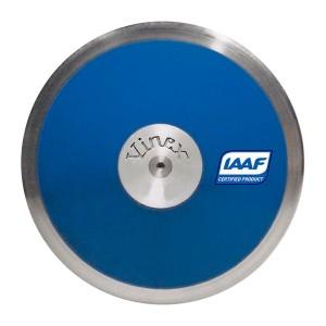 Disco Atletismo Aço/ABS 1kg - Lo Spin DSB-P10 IAAF - Vinex